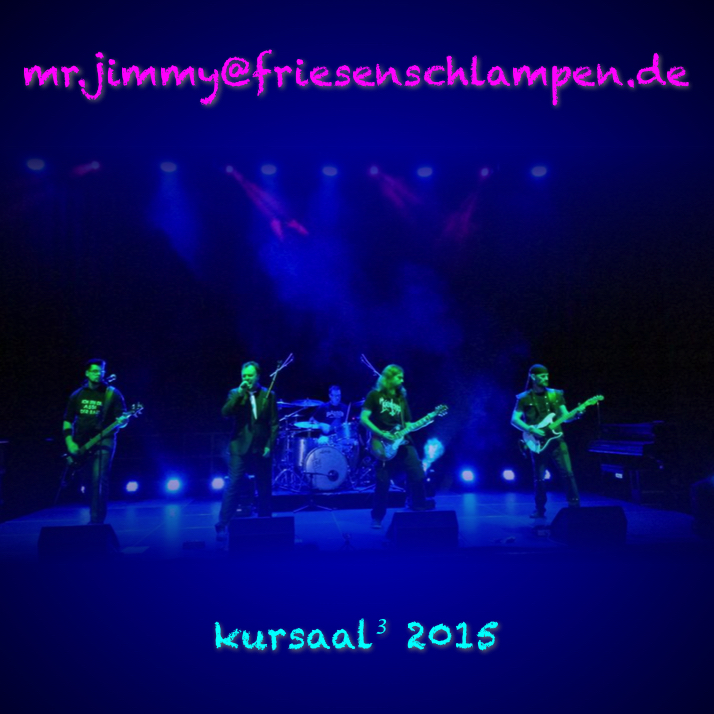 mr.jimmy - kursaal 2015 CD